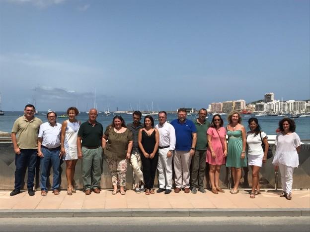 Sant Josep i Sant Antoni presenten un projecte de recuperació de la Badia de Portmany que preveu una inversió de 20 milions d'euros